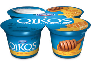 Oikos Greek 2% Yogurt Honey Pack