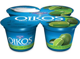 Oikos Greek 2% Yogurt Lime Pack