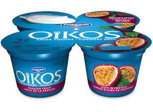 Oikos Greek 2% Yogurt Passion Fruit Pack