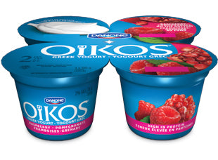 Oikos Greek 2% Yogurt Raspberry-Pomegranate Pack