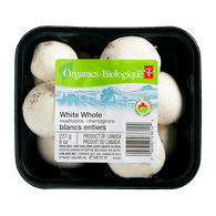 Organic White Mushrooms