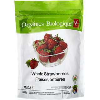 PC Choice Organic Strawberries