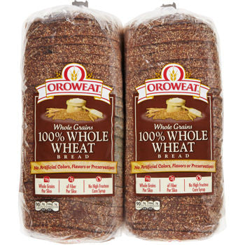 Oroweat Brown Bread Whole Wheat Pack