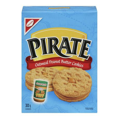 Pirate Peanut Butter Cookies