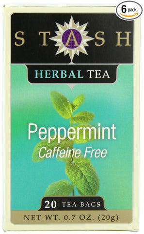 Peppermint Tea Stash