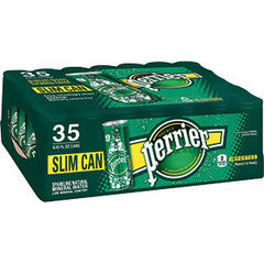 Perrier Slim Cans 35 pack