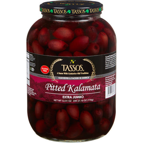 Pitted Kalamata Olives Extra Jumbo