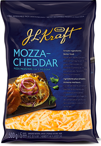 Tex Mex Kraft Cheese Mozza-Cheddar