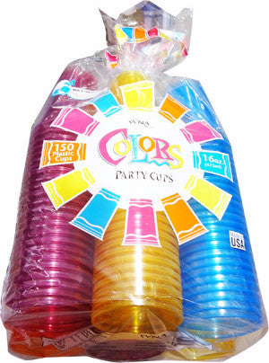 Polar Plastic Color Cups