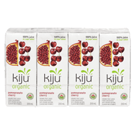 Kiju Organic Pomegranate Cherry Juice MiniPack