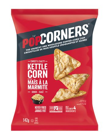 PopCorners Sweet and Salty Kettle Corn Chips