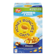 Post Honey Bunches Oats Cereal Jumbo