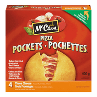 McCain Pizza Pockets 3 Cheese