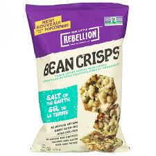 Rebellion Salt of the Earth Chips Bean Crisps