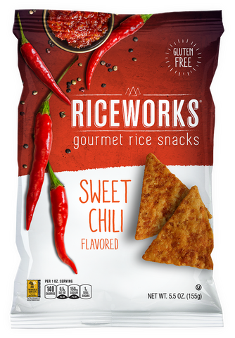 Riceworks Sweet Chili Gourmey Rice Snacks