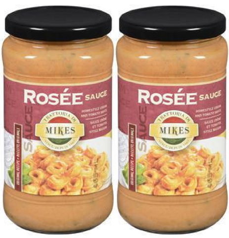 Mikes Rosee Sauce