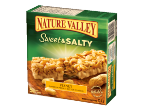 Nature Valley Bars Salty Peanut