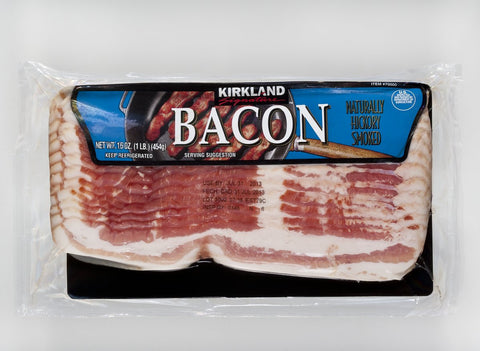 Kirkland Signature Sliced Pork Bacon low sodium
