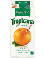 Tropicana Orange Juice Some Pulp Pack