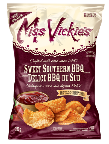 Miss Vickies Delice BBQ Du Sud Chips