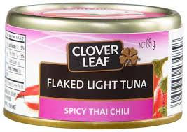 Clover Leaf Spicy Thai Flaked Light Tuna