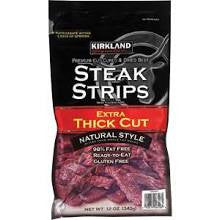 Kirkland Steak Strips Jerky