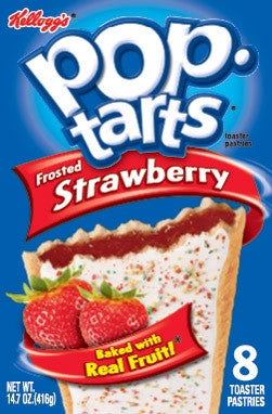 Strawberry Pop Tarts Kellogg's