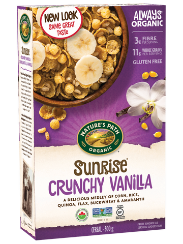Nature's Path Sunrise Crunchy Vanilla Cereal Jumbo
