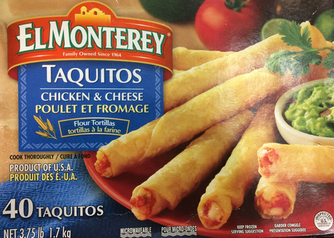 El Monte Rey Taquitos Chicken and Cheese