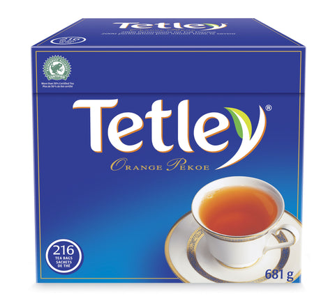Tetley Tea Box
