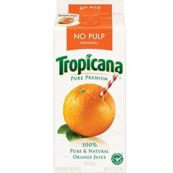 Tropicana Orange Juice No Pulp Pack