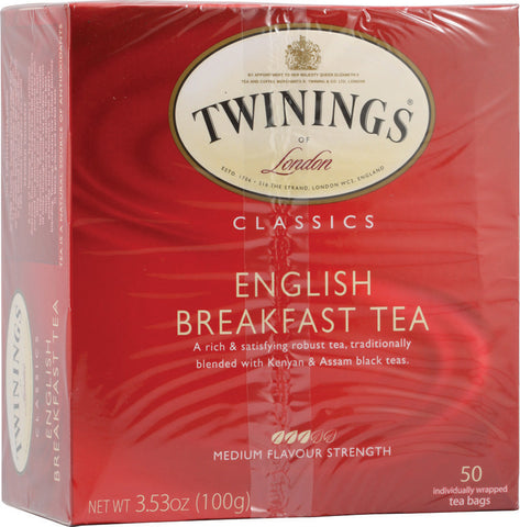 Twinings English Breakfast Tea Box