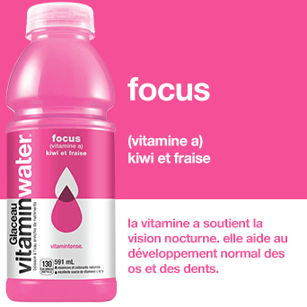 Vitamin Water Focus Vitamin-A Pack