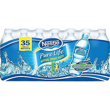 Water Bottles Nestle