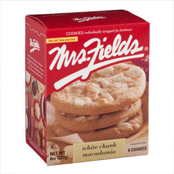 Mrs Fields White Chocolate Macademia Nut Cookies
