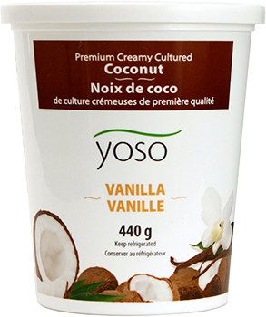 Yoso Coconut Yogurt Vanilla