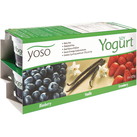 Yoso Soy Yogurt Multi-Pack