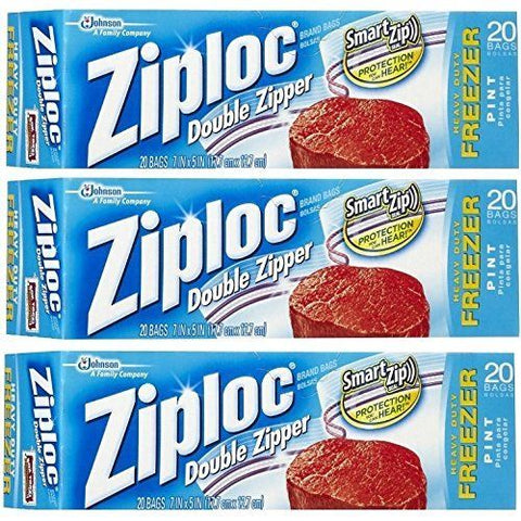 Large Ziploc Freezer Bags