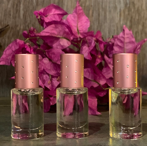 Perfume oil set - Vanilla, Citrus and Musk. Original scent by Bootzie
