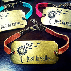 """Just Breathe"" Bracelet"