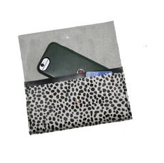 long wallet with spots