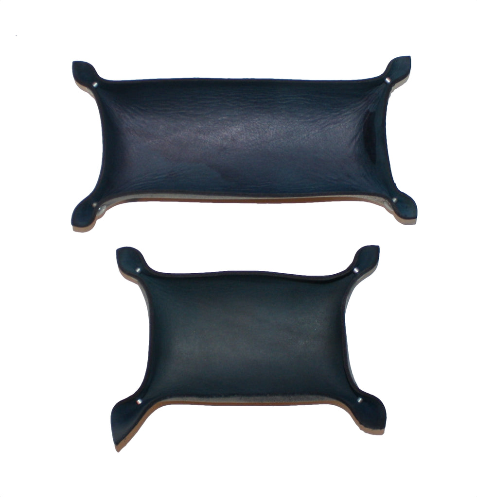 leather tray long