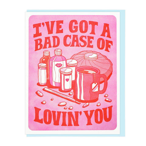 Bad Case Of Lovin' You - Card