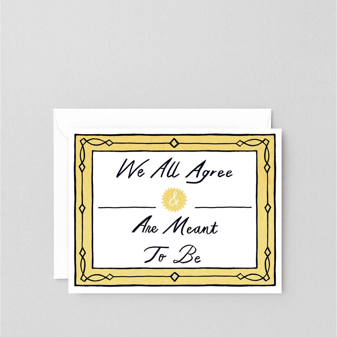 Meant to Be - card