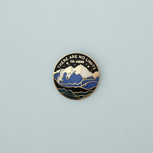 There Are No Limits Enamel Pin