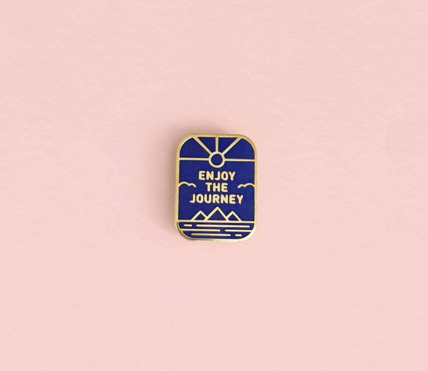 Enjoy The Journey Enamel Pin