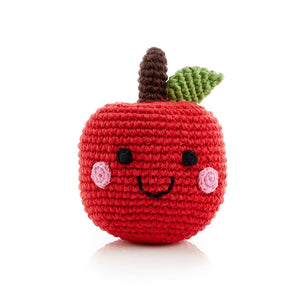 Friendly Fruit Rattle - Apple