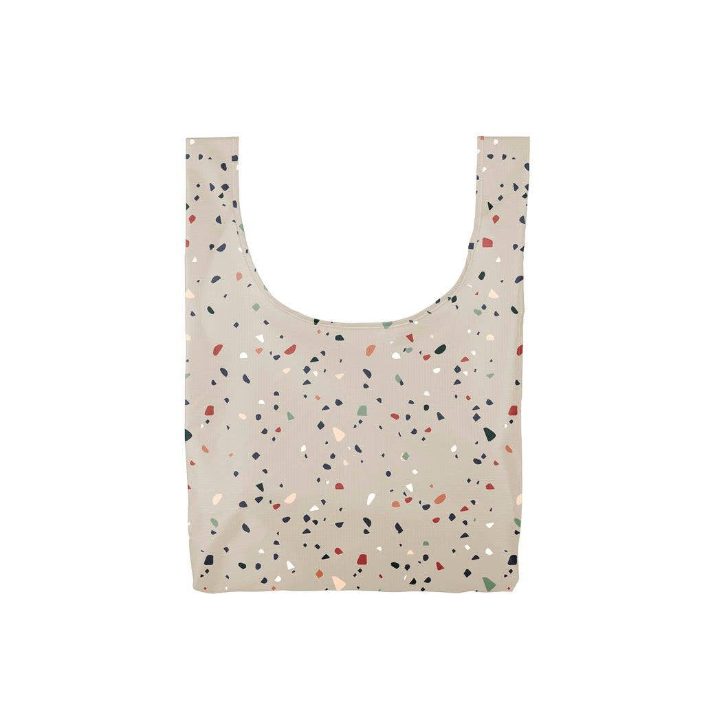 Twist & Shout Medium Tote - Tiny Terrazzo Gray