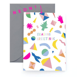 Festive Confetti - Greeting Card