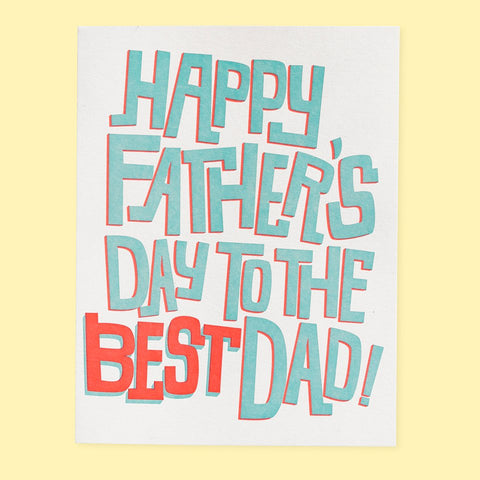 Best Dad - Card